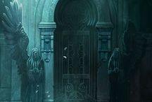 Dark, Medieval, Places