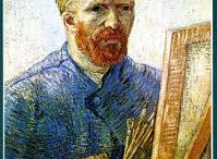 Vincent Willem van Gogh / Vincent Willem van Gogh( 1853 – 1890) was a Dutch Post-Impressionist painter who is among the most famous and influential figures in the history of Western art.Wikipedia