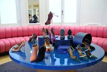 Le Bon Marché Rive Gauche, June 2015 - Malone Souliers / Le Bon Marché Rive Gauche, Paris, June 11th 2015. Le jour est enfin arrivé! Malone Souliers' Made-to-Measure corner in the prestigious Le Bon Marché Rive Gauche is now open. Yesterday's launch was attended by some of the country's smartest women, including a phalanx of talented and stylish actresses, who frolicked alongside Malone Souliers' Mary Alice Malone Jr and Roy Luwolt.