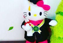 Boneka Wisuda Hello Kitty