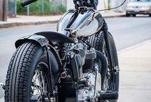 Custom sykler