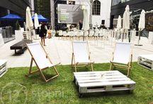 Pallet Furniture 12stopni.pl / Events Furniture, Pallet Furniture, handmade, DIY,