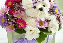 Animal Flower Arrangement