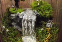 mini waterfall