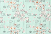 Wallpaper / by Donna Flower Vintage