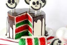 Halloween food, cakes & crafts
