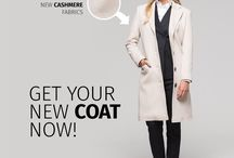 Elegant Coats / Stay stylish and warm this fall & winter! Made to measure coats at Sumissura.com