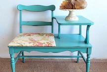 refurbished furniture / by Kim Miller