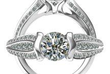 1 Dia ring
