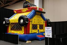 Dallas Auto Show 2014 / Here are some of our inflatables and the cars from the Dallas Auto Show 2014