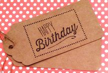 Gorgeous Gift Tags / A selection of eye catching gift tags for added details when giving gifts & presents <3