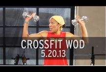 crossfit workouts I can do at home / I love the workouts that include running... / by Nancy Petty
