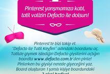Defacto ile Tatil Keyfim (: / Tatiiiiil