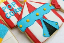 Circus cookies, cakes and cupcakes..
