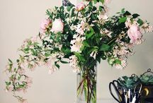 Arrangements.and.Blooms / Nothing says home like fresh flowers. Pink + Green only. Happiness in a bunch.