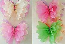 mariposa cuarto de gabi