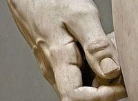 DaViD sculpture art detail
