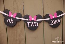 Haylee's 2nd birthday / Mini mouse theme