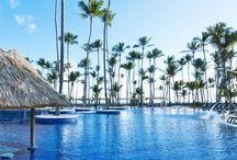 Barceló Bávaro Beach / Barceló Bávaro Beach. This beachfront all-inclusive Adults Only resort features an outdoor swimming pool surrounded by coconut trees and lounge chairs. The resort shares the 24-hour casino with Barceló Bavaro Palace Deluxe.