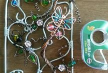 wind chimes and sun catchers