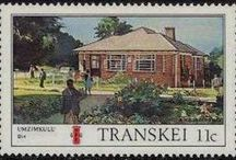 Stamps - S. AFRICAN HOMELANDS / A 'homeland' was a territory set aside for black inhabitants of South Africa and South West Africa (now Namibia), as part of the policy of Apartheid. Ten Bantustans were established in South Africa, and ten in neighbouring South West Africa (then under South African administration), for the purpose of concentrating the members of designated ethnic groups - Transkei - Ciskei - Bophuthatswana - Venda