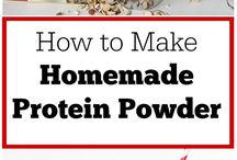 Home made Protein Powder