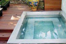 Stainless steel spa / Good idea