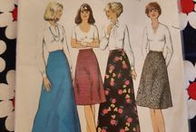 *Sewing Pattern Stash - Skirts