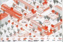 Architecture axonometric inspo