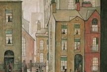 Laurence Stephen Lowry - Artist / Artist.  1 Nov 1887 - 23 Feb 1976.