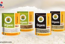 Organic Foods / Buy Organic Products Online in Delhi-NCR at Best Quality & Price on Kiraanastore.com. Get Free Shipping & Cash on Delivery.