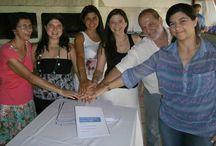 FIRMA DE PROTOCOLO DE AURUM/JADE DE LA FAMILIA ZACARÍAS / La familia Zacarías, propietaria de la Empresa Aurum/Jade Joyerías ubicada en la ciudad de Paraná, Entre Ríos, firmó este domingo 16 de noviembre de 2014 su Protocolo Familiar, bajo el asesoramiento del consultor Ceferino Sain