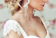 Hair ideas / Wedding hair for Dana
