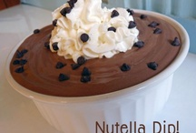 Nutella Recipes  / by Samantha Rosenberg