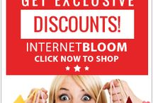 InetBloom Exclusive Online Shopping Discounts. www.onlineshopper.us / Internet Bloom offers everything as your one-stop discount shop. Browse from fashionable clothing and accessories, the newest electronics, sports and fitness products, appliances, and even travel discounts. Click Now to start shopping.