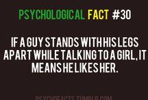 Love/crush facts