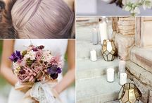 Gold and Mauve Wedding Colors