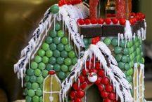 Gingerbread Houses / Christmas houses of yumminess! / by Tina Holt