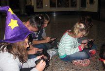 Segno e colore. I trucchi dell'artista per costruire la realtà, speciale Halloween / Come riconosciamo un teschio all'interno di un dipinto? Quali sono i mezzi con cui i pittori ricreano un oggetto reale come una zucca all'interno del quadro, tanto da trarci in inganno? Hanno sempre usato lo stesso metodo? Prendendo a modello le opere della Pinacoteca, in collaborazione con Nintendo, i bambini hanno dipinto nelle sale del Museo – proprio come facevano gli allievi dell'Accademia di Belle Arti di Brera – ma utilizzando una console digitale. Attività didattica del 31 ottobre 2015