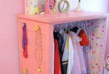 Decor - kids room, girl stuff