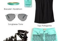 Luxe Looks / Clothes to go with your nails and toes!