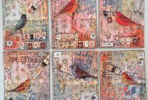 Birds ATCs, Tags, Cards...