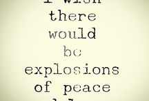 I wish there would be an explosion