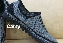suwer shoes crochet