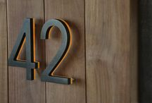 Decor: House Numbers
