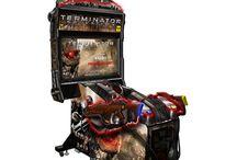 arcade video game (shooting games)