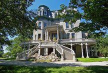 Marvelous Mansions, Charming Castles & Cozy Cottages / Oh how the rich & famous live
