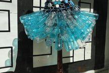 trajes de reciclaje