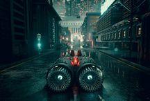 Sci Fi Street Scene / Sci Fi Street Scene, #scifi #scifistreet