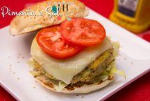 Lanche / Receitas para lanche Pão de queijo, tortas, muffins, batatas, sanduíches, pastel, hambúrguer, biscoito.